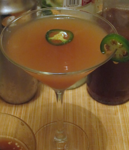 Holiday cocktails jalapeno infused vodka 5 ways hot for Flavored vodka martini recipes