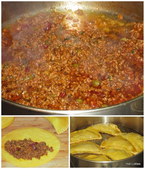 spicy empanadas with cilantro cream recipes dishmaps spicy empanadas ...