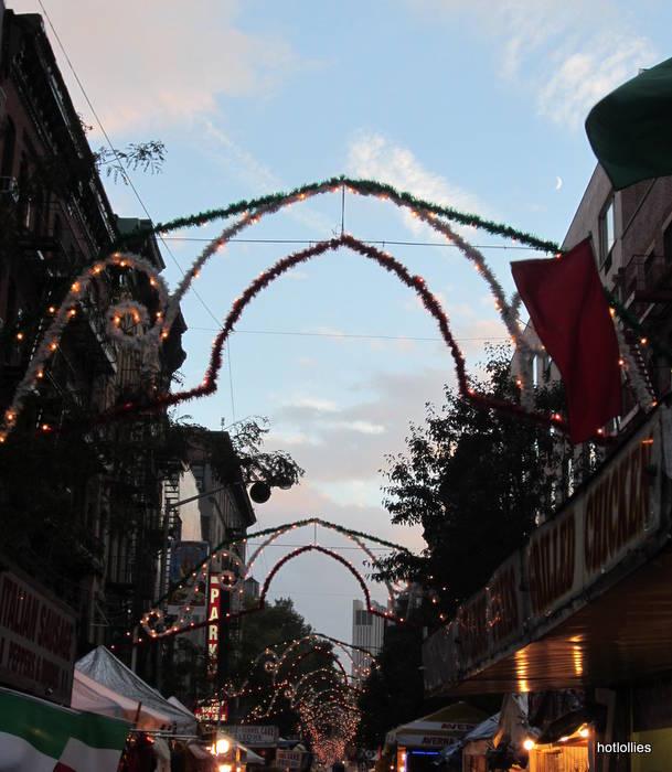 Entrance to Feast of San Gennaro