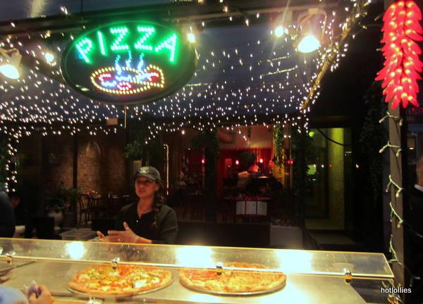 pizza outside