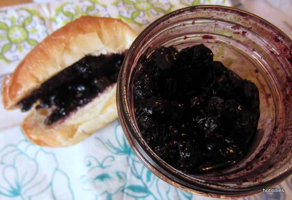 Jam Stand Blueberry jam