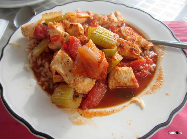 chicken creole over rice