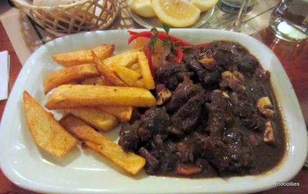 Beef Bourguignon at Normandies