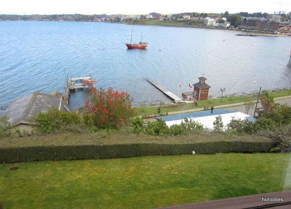 Cabanas del Lago Hotel room view