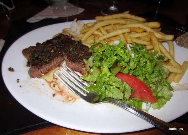 steak dinner at Alberto's
