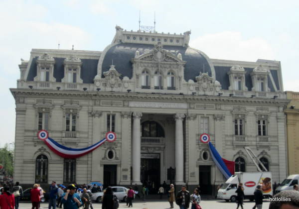 Santiago Chile Post Office