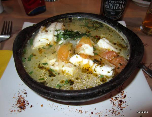 Chilean Sea Bass stew