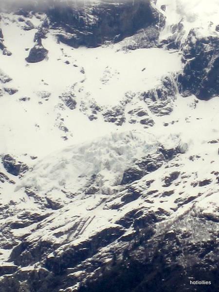 Tronado glacier