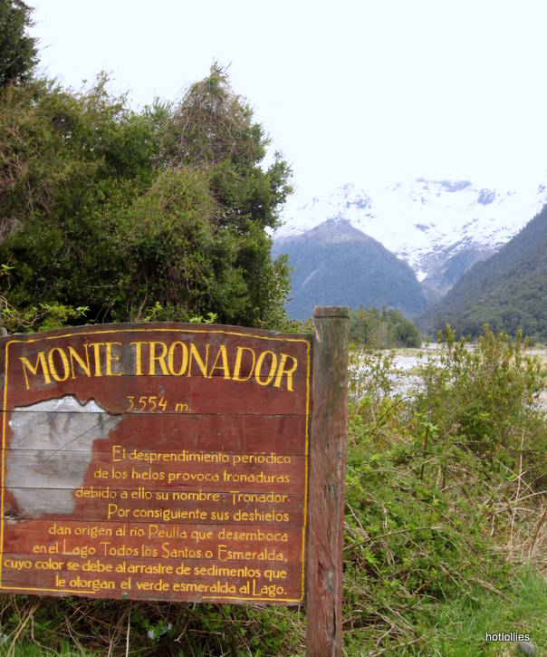 Tronador sign